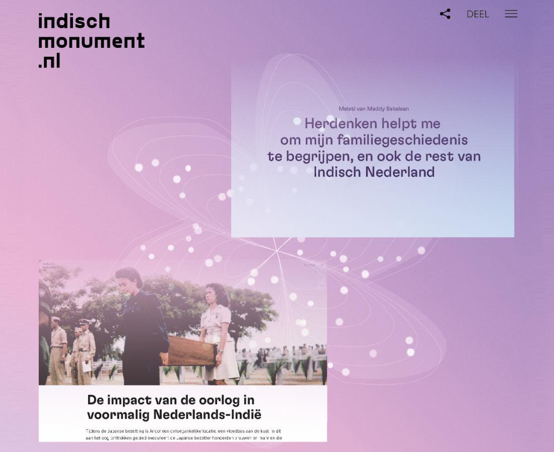 Lancering Indischmonument.nl