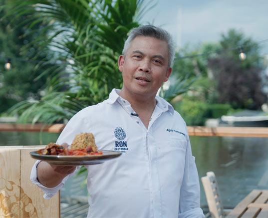 Nasi Rames van Agus Hermawan